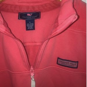 Coral Men's Vineyard Vines Shep Shirt